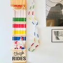 Upcycle a Toboggan Into Cheerful Xmas Decor!