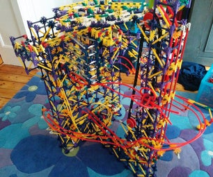 Three Small Towers - a K'nex Ball Machine
