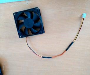 Computer Fan Wire Extending