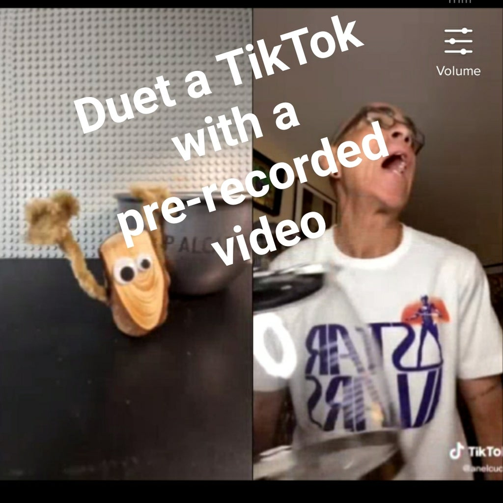 Duet A Tiktok With A Pre Recorded Video 7 Steps Instructables