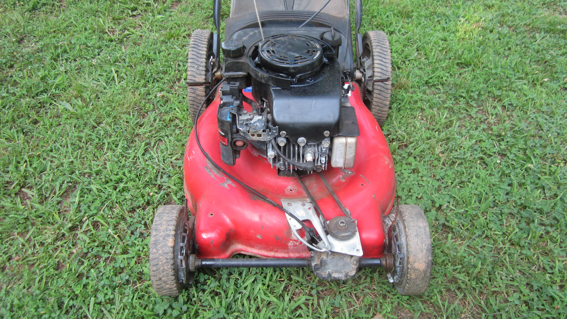 How to bring a dead lawnmower back to life.