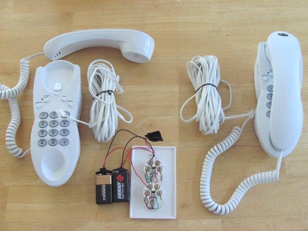 Old Phone Toy Intercom Device