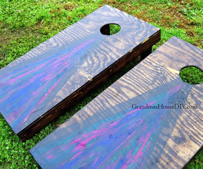 DIY Build Cornhole Boards – My First Experience With Unicorn Spit!