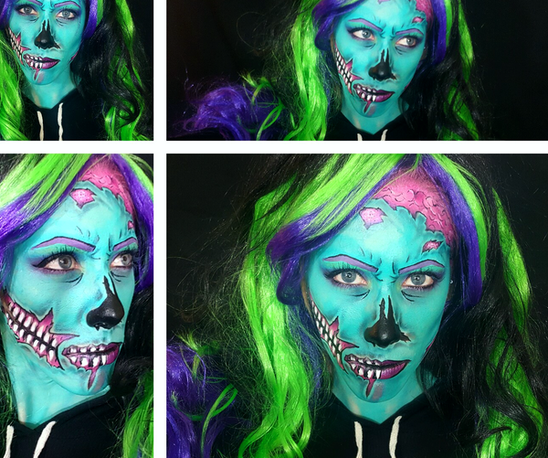 PoP Art Zombie Body Paint