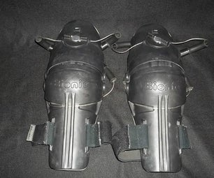 Knee Pads for Robot Space Costume