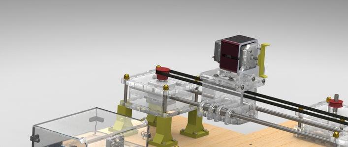 Assembling the Structure: Upper Motor Box