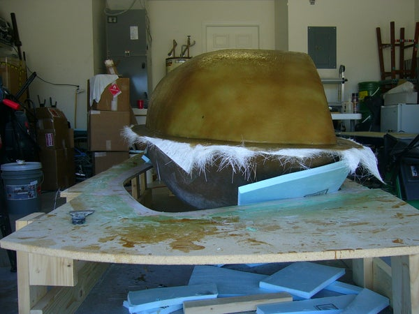 """[Video] Large Scale Mold Making - Making the Negative """"Tool"""""""