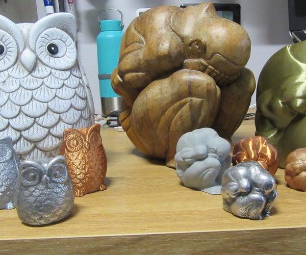 3D Print Into a Solid Aluminum Metal Casting, (Lost-PLA Casting)