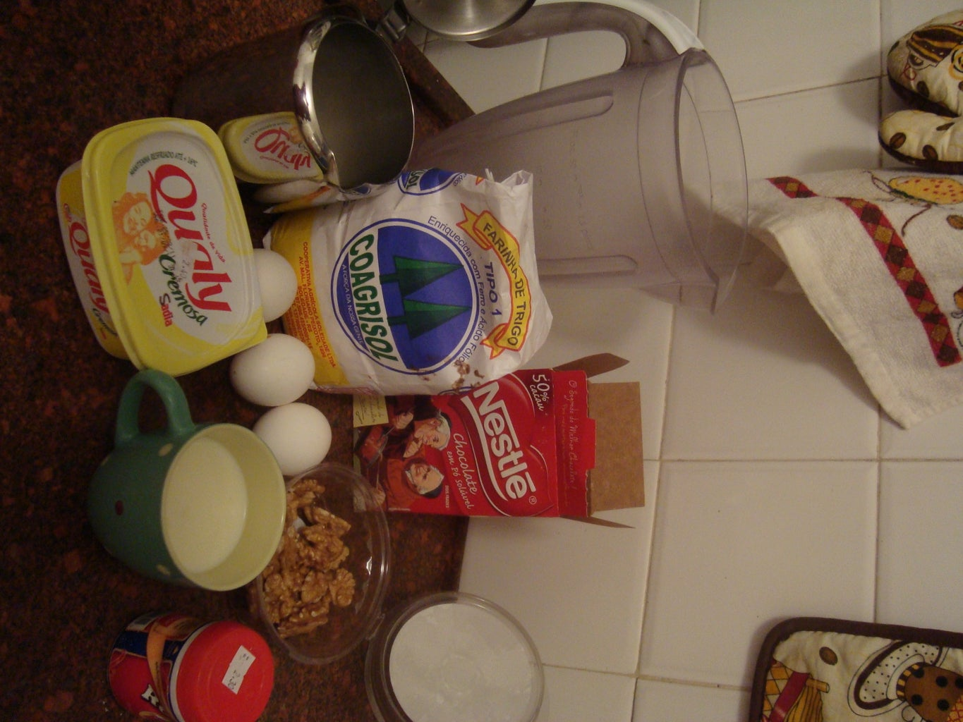 The Muffin Ingredients: