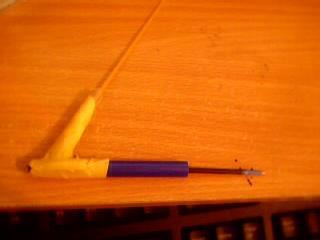 Auto-loading Spaghetti Pen Gun