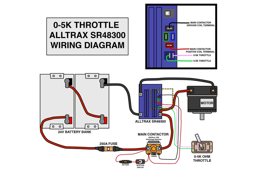 Controlling Motor Speed : 16 Steps - Instructables | Speed Control Wiring Diagram |  | Instructables
