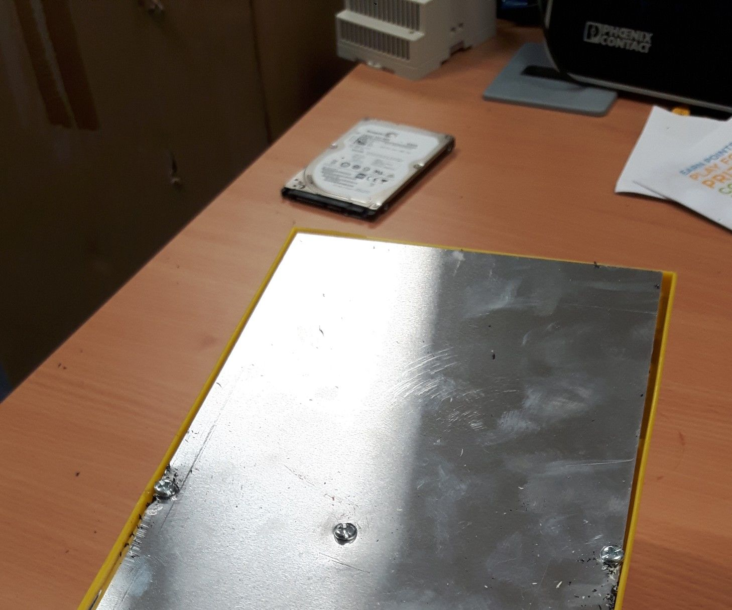 Old HDD Vibration Table