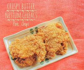 Butter Nestum Cereals for Crispy Pork Chops