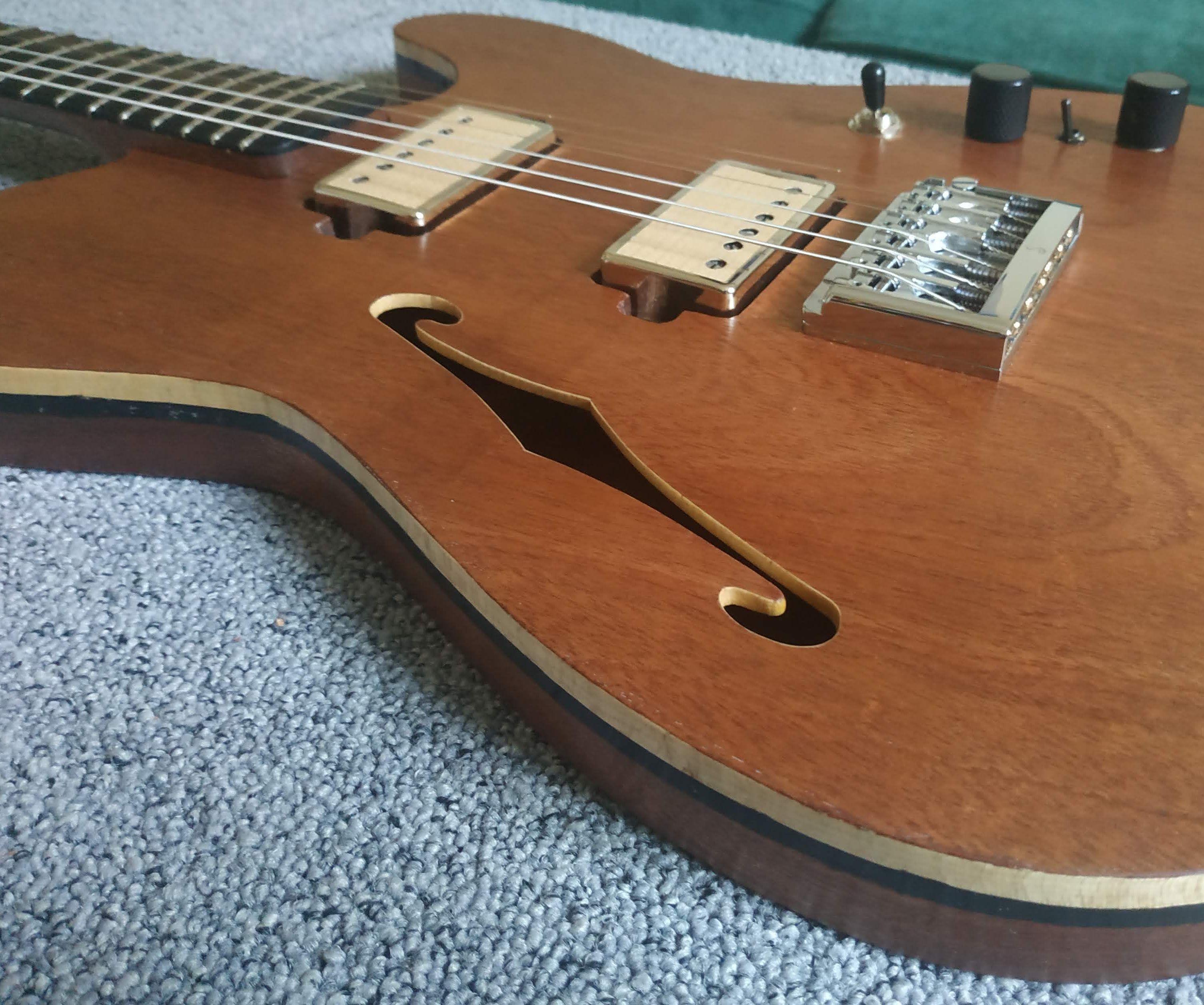 Building a Guitar: Telecaster Thinline