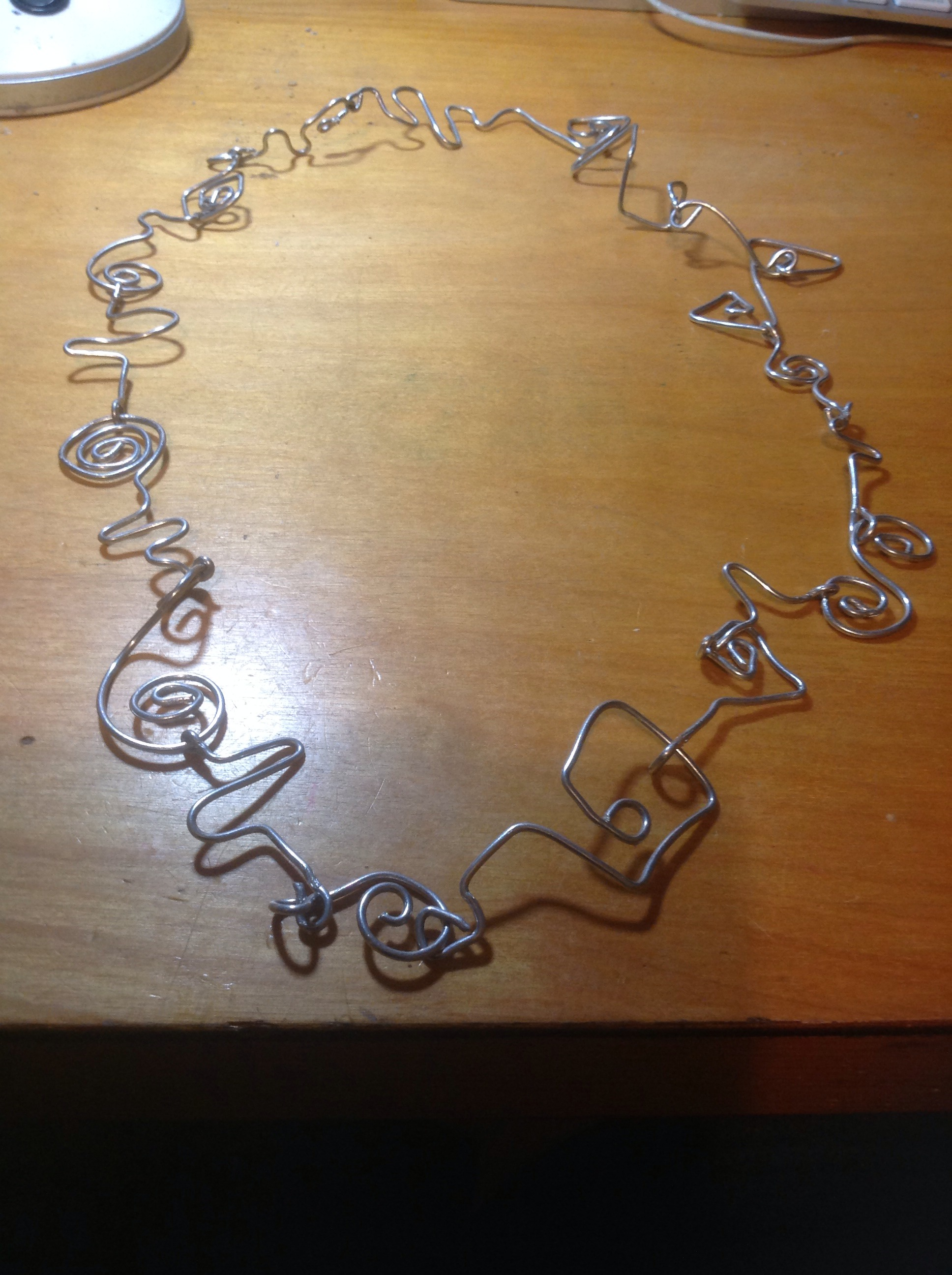 Doodly Wire Necklace