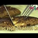 Vegan Steakhouse Melts - Vegan Patties Folded and Stuffed With Vegan Cheese