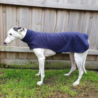 Greyhound Coat From Old Fleece Vest