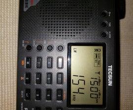Using a Radio to Detect Lightning