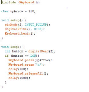 Make the Codes at Arduino App
