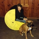 Pac-Man rocking chair