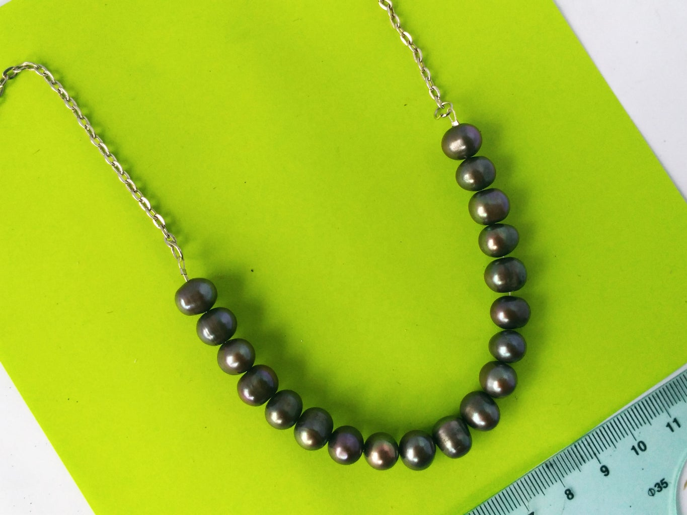 Add a Metal Chain to Complete the Necklace