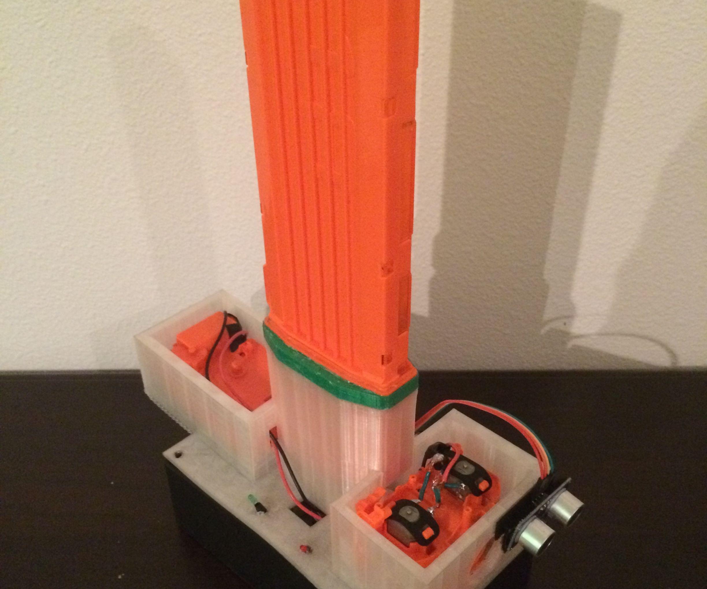 Foam Automated Defense Turret