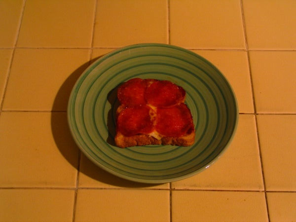 The 5 Minute 35¢ Pizza