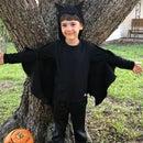 Easy, Adorable Kids Bat Costume!