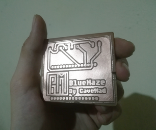 Etch Copper Using a Laser Printer- PCB Making