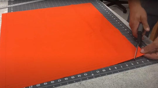 Cut the Outside Fabric