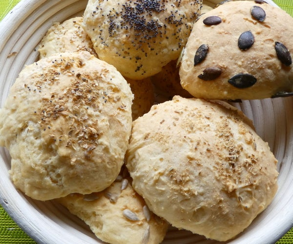 Gluten Free Buttermilk Buns