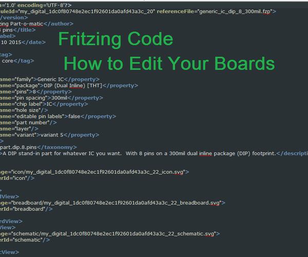 Fritzing: a Coding Story