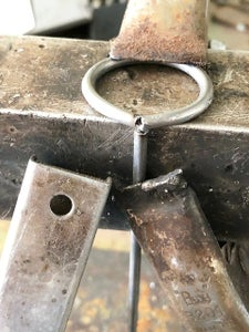 Check for the Length of the Rod in the Tank, Weld
