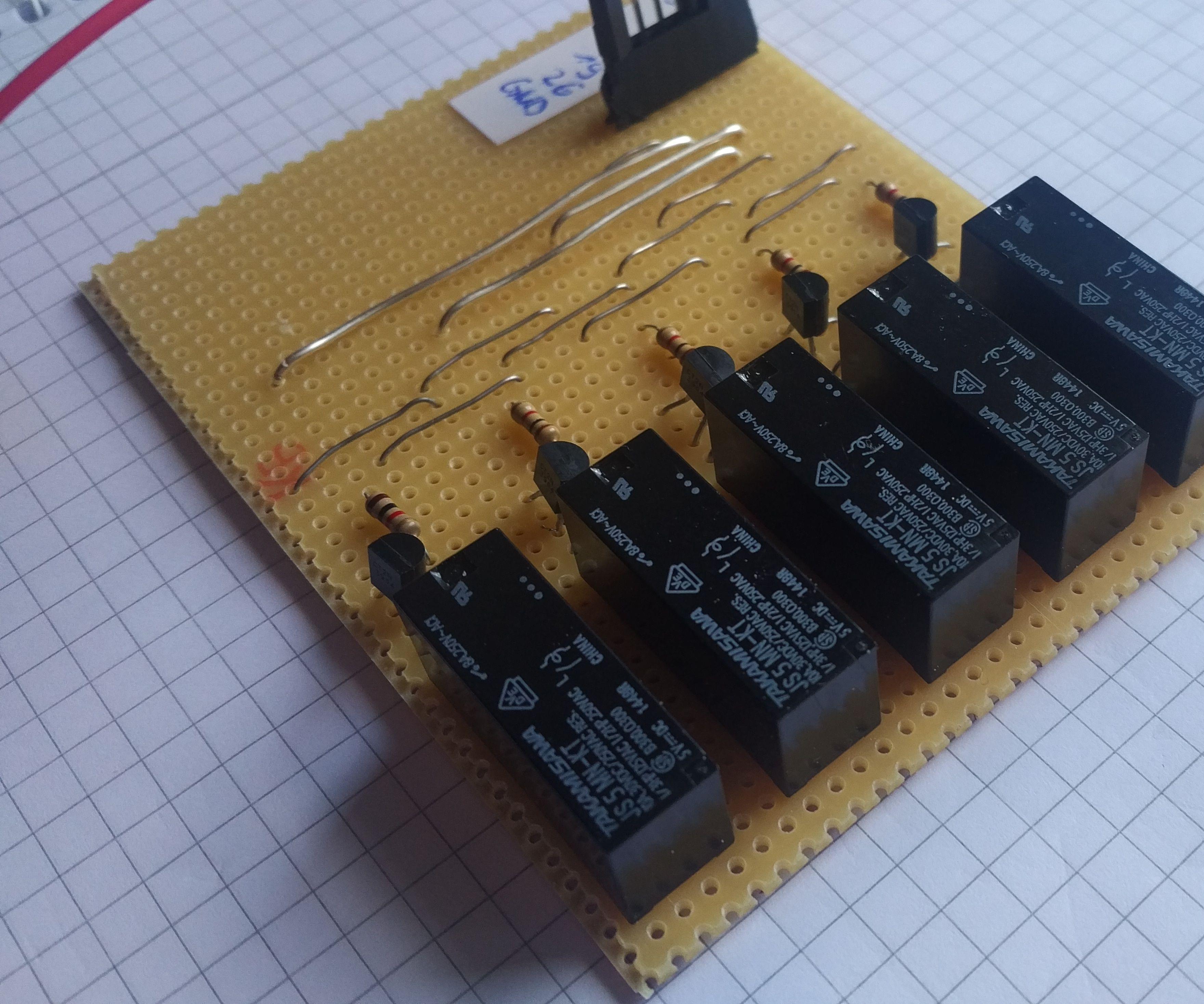 Raspberry Pi DIY relay board