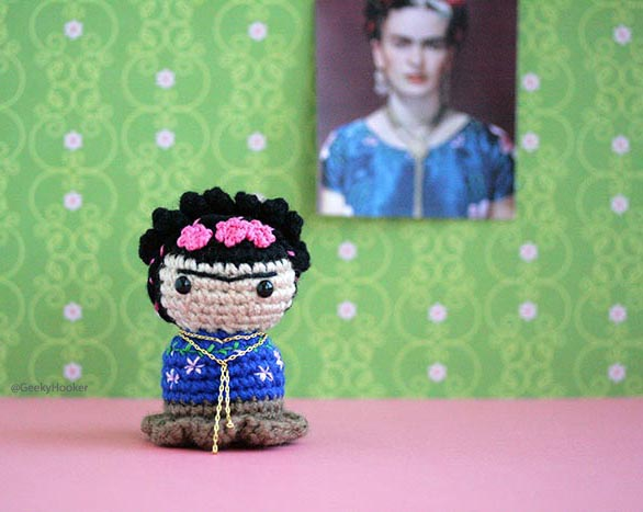 Little Frida Kahlo!