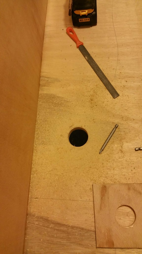 The Box Is Built, Now We Make the Drain Section.