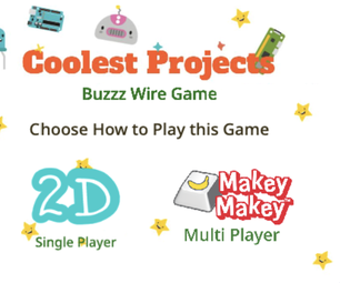 Buzz Wire Game Using Makey Makey and Scratch