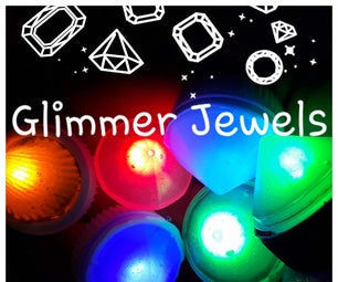 Cast Glimmer Jewels With Self Made On/off Switch