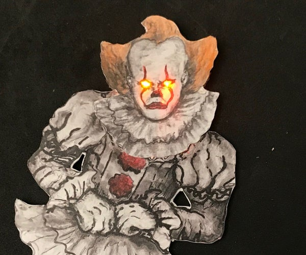 Light Up Floating Pennywise the Dancing Clown