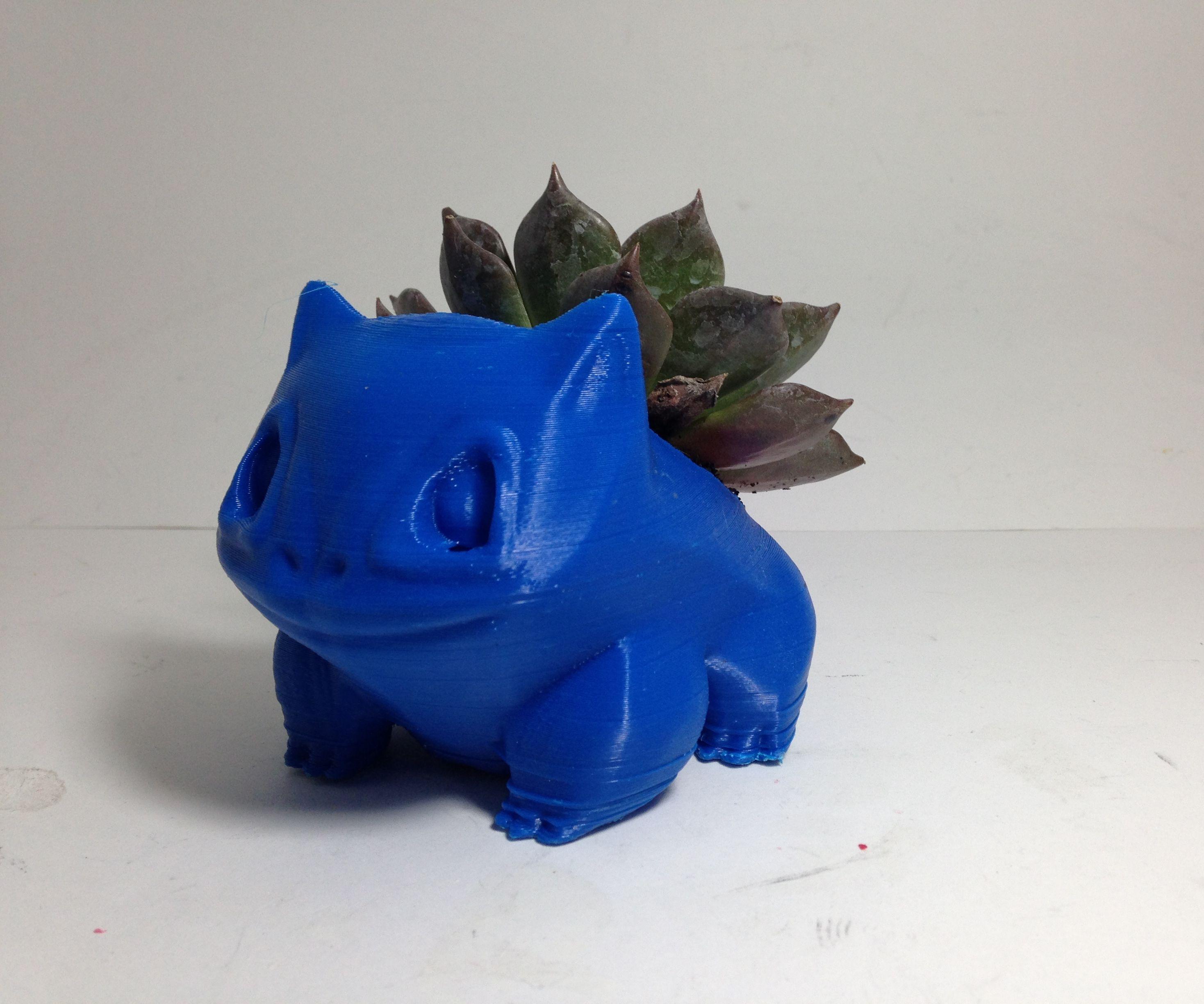 Bulbasaur Succulent Planter w/ free file