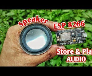 ESP8266 Audio | Play Audio File With Esp8266 or Nodemcu Without SD CARD