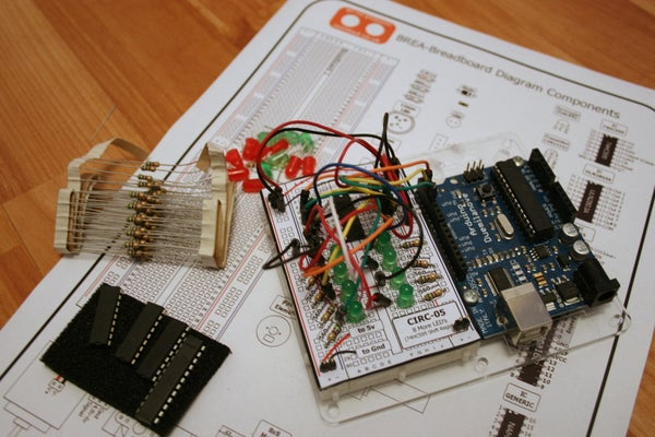 Solderless Breadboard Layout Sheets (plug and Play Electronics)