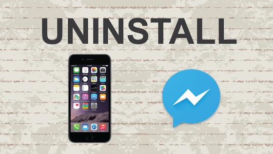 Delete Facebook Messenger on Mobile App