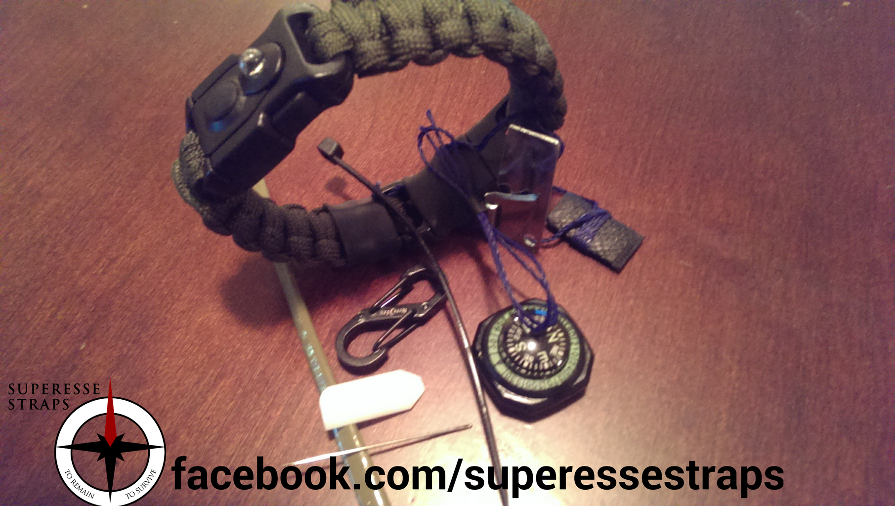 Paracord Bracelet With Survival Kit: Design Your on Emergency Bug Out Bracelet Outfitted With a First Aid Kit, Fire Starter, Fishing Supplies, Tools, Compass, Knife, and More.