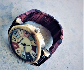 Wooden Watchband