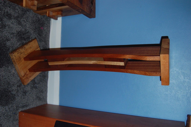 Wooden Speaker Stands