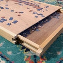 Wooden Puzzle Tray With Storage