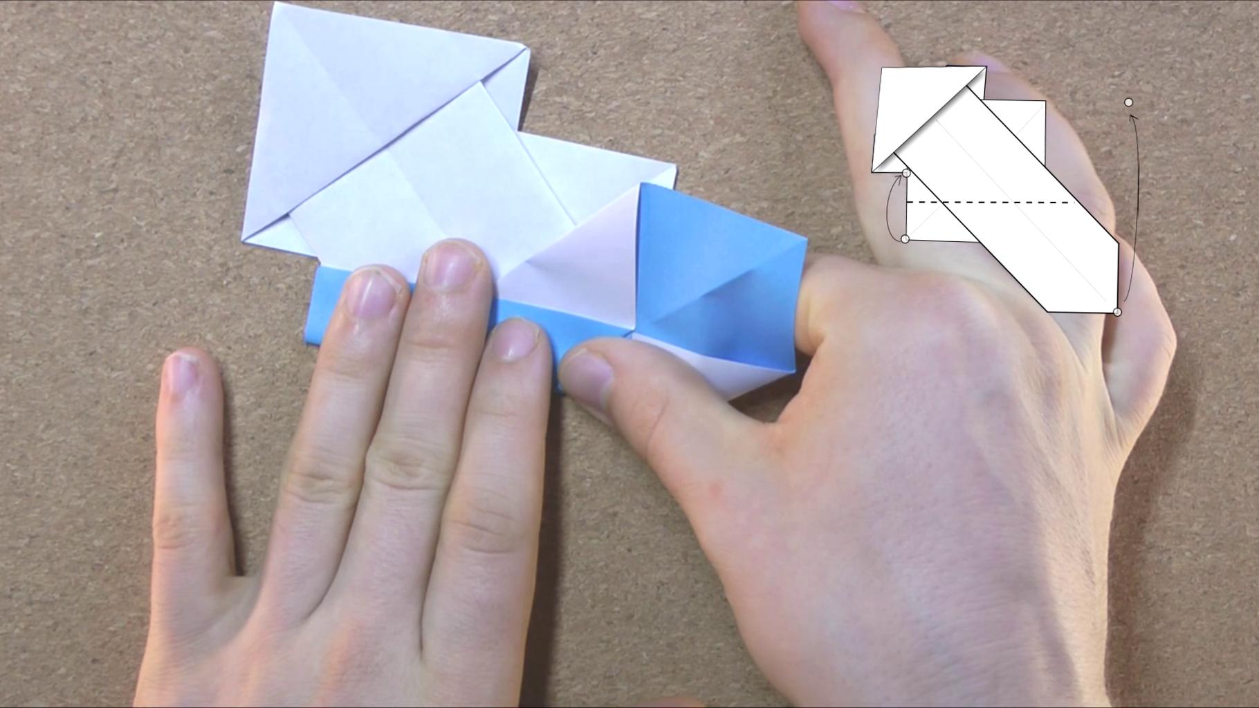 Fold Diagnals