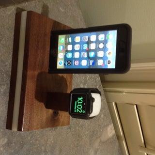 Custom Apple Watch Charging Stand