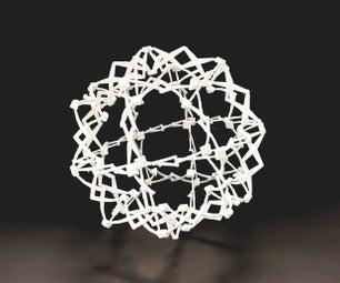 Reverse-Engineering Toys:  3D Printed Hoberman Sphere